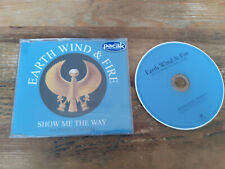 CD Pop Earth Wind & Fire - Show Me The Way (1 Song) Promo SANCTUARY sc