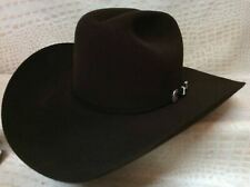 New Stetson Skyline Chocolate Brown 6X Beaver Felt Western Cowboy Rodeo Hat