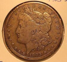 1903-S Silver Morgan Dollar FINE + CONDITION ** BELOW BID **