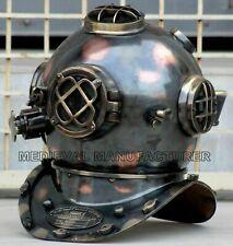 Antique Divers Vintage Scuba Diving Helmet Marine Navy Mark V Deep Marine Diver