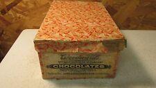 Antique Woodward Candy Box Council Bluffs Iowa