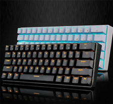 Bluetooth Wireless/USB Wire Dual-mode Backlit Black axis Mechanical Keyboard