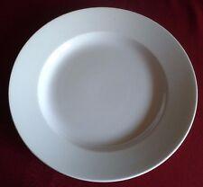 1 splendide plat  ancien, Opaque de Sarreguemines, blanc, grand diamètre