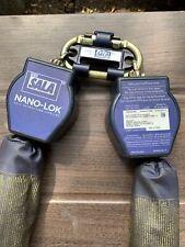 Dbi Sala 3101277 Nano Lok Twin Leg Quick Connect Self Retracting Lifeline