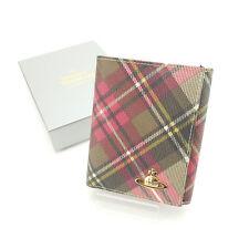 Vivienne Westwood Wallet Purse Folding wallet Orb Woman Authentic Used Y3818