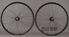 H + Plus Son Archetype Black Paul Track hubs Custom Wheelset 24h Front 28h Rear