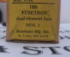 Fusetron MDL2 2A Dual Element Time Delay Fuses lot of 4 (LOT Of #4)