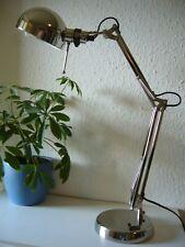 Designer Schreibtischlampe IKEA Tischlampe Massiv Chrom Top-Qualität