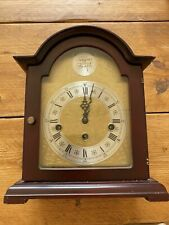 Rare Franz Hermle Tempus Fugit 2 Jewel Mantle Clock (Made In Germany) #340-020