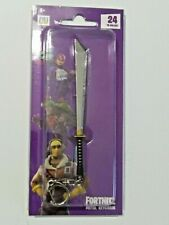 "EPIC GAMES FORTNITE LICENSED METAL WEAPON KEYCHAIN ""SHADOW BLADE"" ZURU"