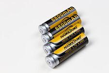 18650 batería 6800 mah, 8,5 WH 3,7 V Mega batería Li-ion 4er