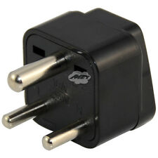 Universal US EU AU to Small South Africa India Wall Power Plug Travel Adaptor