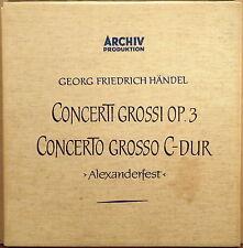 2 LP LINEN BOX ARCHIV Handel CONCERTO GROSSO Op. 3 Wenzinger 198 017/018