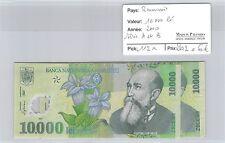 2 BILLETS ROUMANIE - 10 000 LEI 2000 - SERIE A et B