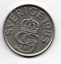 Sweden 1985, Crowned monogram of king Carl XVI Gustaf, 5 Kronor