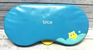BRICA Bath Kneeler Baby Blue Bath Accessory Non Slip Bottom