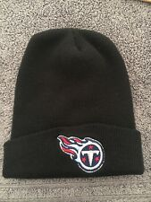 NFL Football Tennessee Titans Black Beanie Knit Hat Toque Fan Gift