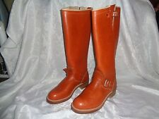 "New (With Flaws) Rare Vtg Browning 7494 18"" Engineer Snakeproof Boots Usa 9D 9 D"