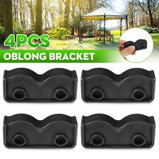 4PCS PopUp Gazebo Replacement Tent Spare Parts Oblong Rectangular Bracket