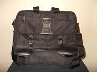 TUMI Messenger Briefcase Laptop Computer Expandable Organizer Shoulder Bag