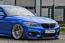 Spoilerschwert Frontspoiler Cuplippe aus ABS für BMW 2er F22 F23 M-Paket mit ABE