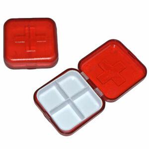 Pill Box Reminder Holders Medicine Pills Boxes Tablets Pocket Purse Bag