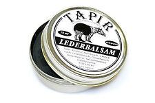 (100ml=10€) Tapir ~ Lederbalsam in Dose schwarz 85ml
