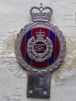 Original Vintage Car Mascot Badge British Army Royal Engineers Badge by Gaunt