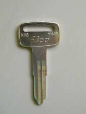 Yamaha Motorcycle Key Blank YH49 or X118 By ILCO Fits Many ATV's & Others