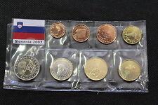 SERIE EURO COMPLETA SLOVENIA ANNO 2007 - EURO SET COIN