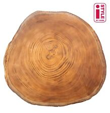 Set of 4 Placemats & Coasters Table Settings Mats Cork Wooden Print Tree Trunk