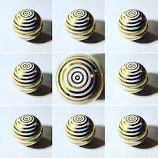 Scatola Porta Gioie Vintage Piero Fornasetti Anni '50 Ceramica Bianca Oro