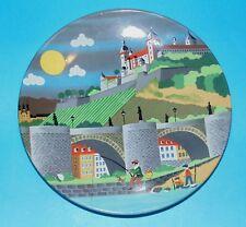 Poole pottery plate  ' Scene V '  #435  1st Quality  (6702)