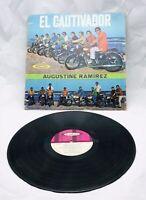 """Tejano Tex Mex LP Augustine Ramirez """"El Cautivador"""" Marky Lee"""