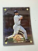 F43833 1998 Leaf Fractal Foundations Paul Molitor /3999 Twins
