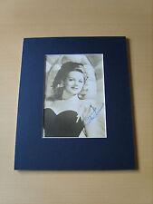 Martha Odriscoll Genuine Autographs - UACC / AFTAL.