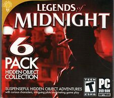 DREAMSCAPES 2: NIGHTMARE'S HEIR Hidden Object 6 PACK PC Game NEW