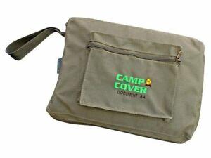 Camp Cover - Document Bag A4 - Khaki Ripstop - CCL003-A