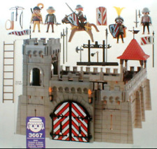 Playmobil Sets Knights pieces : Famobil-3444-3653-3665-3667-3889