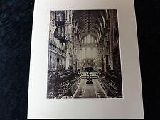 C1880's Large Original Photo of York Minister