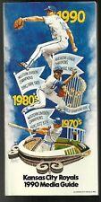 11 Kansas City Royals  baseball media guides 1990 to 2000 in various conditions.