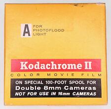 Kodachrome II 100ft. Daylight Double 8mm Color Movie Film