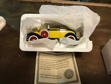 1929 Ford Convertible Car 1/32 Scale Diecast National Motor Museum Mint