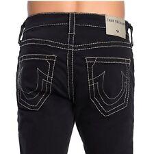 True Religion Men's Rocco Big T Skinny Stretch Jeans in Black