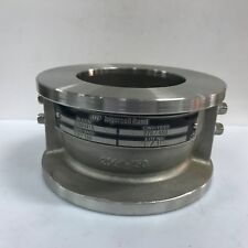 INGERSOLL RAND  # 22884415  Wafer Check Valve Size 2.5 Inch  CF8M CWP 275