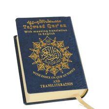 Tajweed Quran, English Translation&Transliteration Pocket size Dar Marifa Qur'an