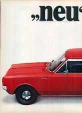 Opel-Rekord-1969-Reklame-Werbung-genuine Advert-La publicité-nl-Versandhandel