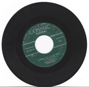 The Answer To The Flying Saucer U.F.O.There Has To Be You 45 RPM Ex Play tested
