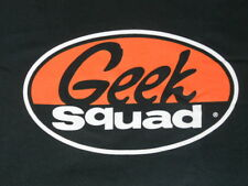 The GEEK SQUAD - Men's XL Black T-Shirt - Brand New Without Tags - NWOT