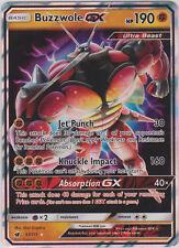 Pokemon SM - Crimson Invasion Buzzwole GX 57/111 Ultra Rare Card